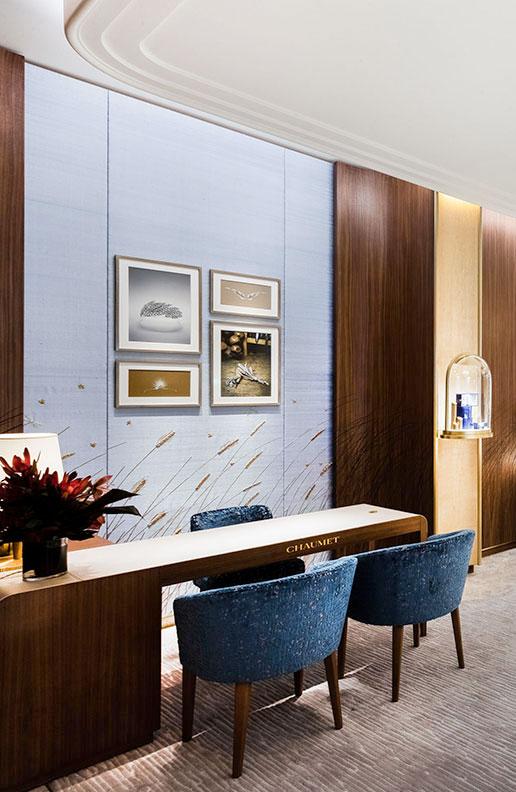 paris sweet home deco CHAUMET scénographie iconographie boutique