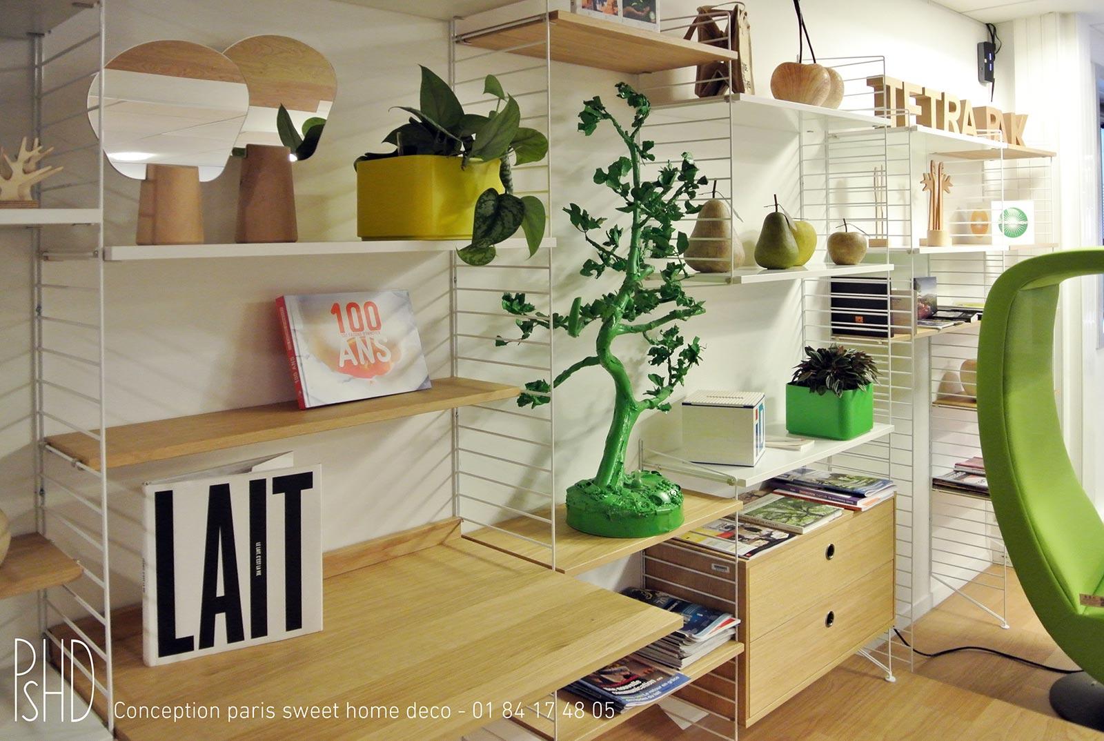 Décoration intérieure de bureau Tetra Pak