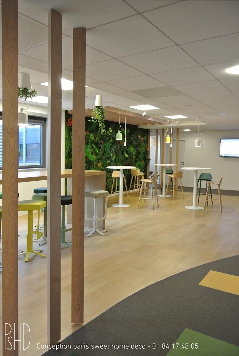 Déccoration intérieure salle de réunion
