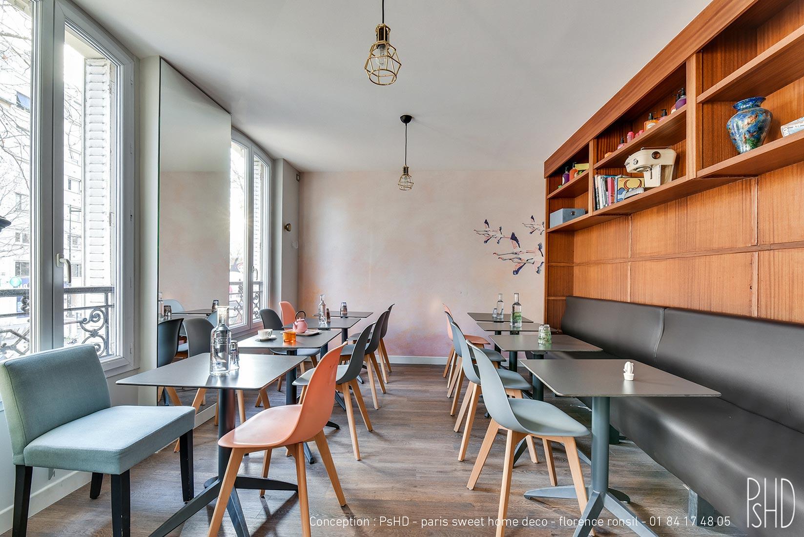 Décoration de restaurant Paris