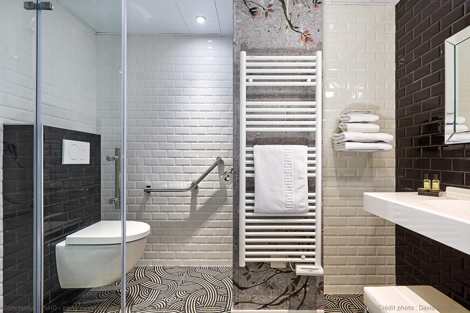 paris sweet home deco HOTEL daguerre Montparnasse rénovation décoration salle de bain
