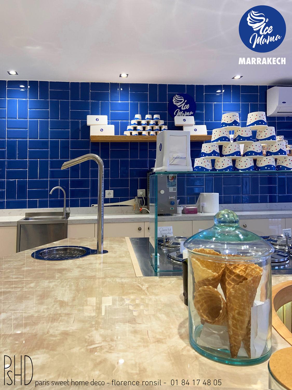 GLACIER ICE MAMA PARIS SWEET HOME DECO décoration de BOUTIQUE
