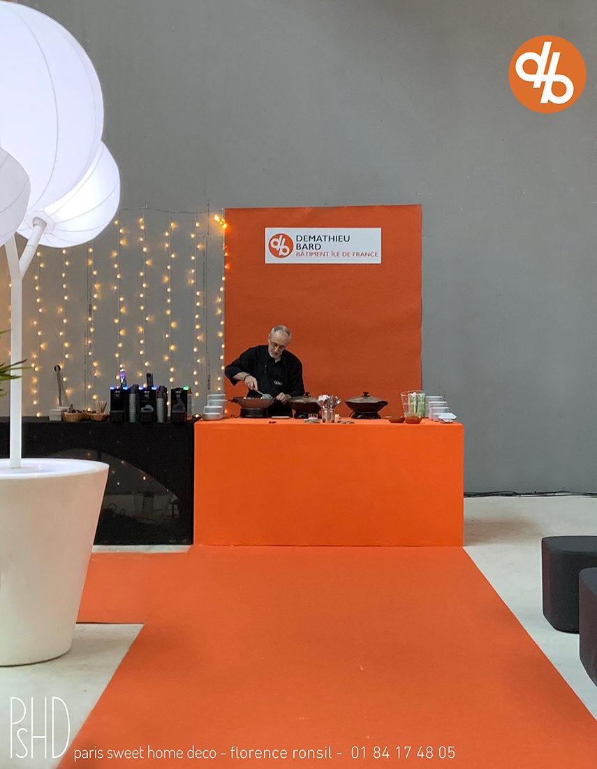 Scénographie évènementielle Demathieu Bard décoration d'évènement Deal 4 Event